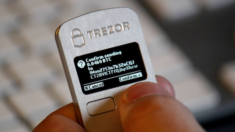 Trezor Wallet - Monedero bitcoin